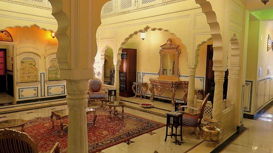 Shahpura House : Sitting area