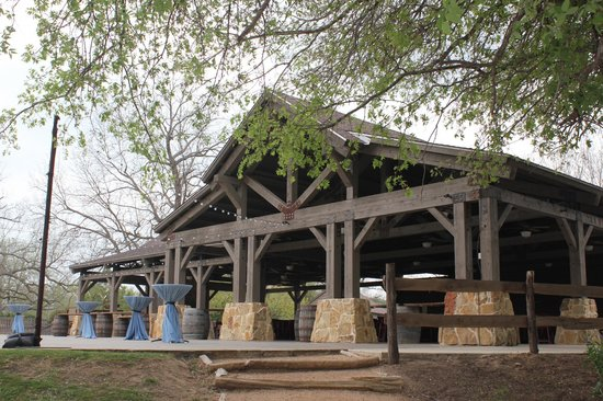 Hyatt Regency Lost Pines Resort and Spa : The LBJ Pavilion, which is an outdoor venue