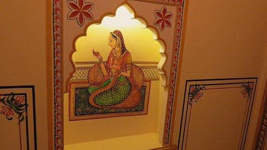 Shahpura House : Lobby