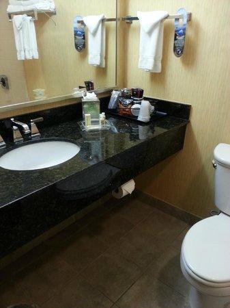 Holiday Inn Corpus Christi Downtown Marina: Clean bathroom