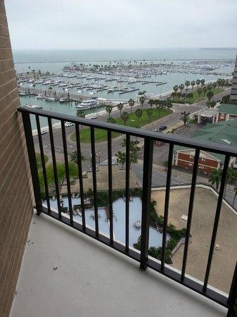 Holiday Inn Corpus Christi Downtown Marina: View from balcony