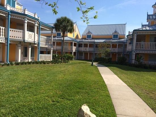 Disney's Caribbean Beach Resort: Jamacia village