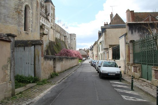Les Fleurons: Street it is located on - super close to the central area