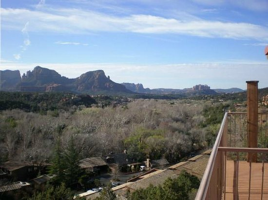 The Orchards Inn of Sedona: View from our patio to SouthEast