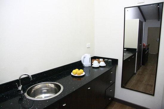Tokatoka Resort Hotel: Family Villa Kitchen Amenities