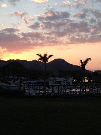 Hotel Riu Palace Costa Rica: Beautiful sunset!