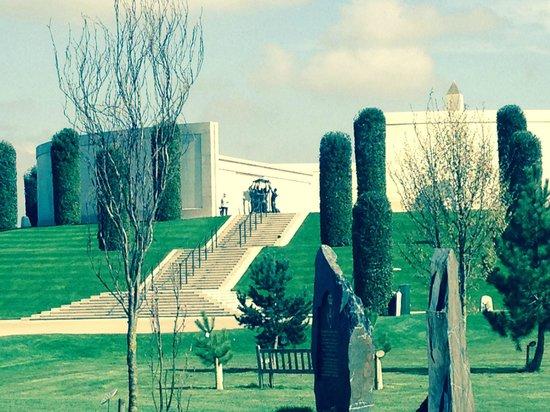 National Memorial Arboretum: The memorial wall