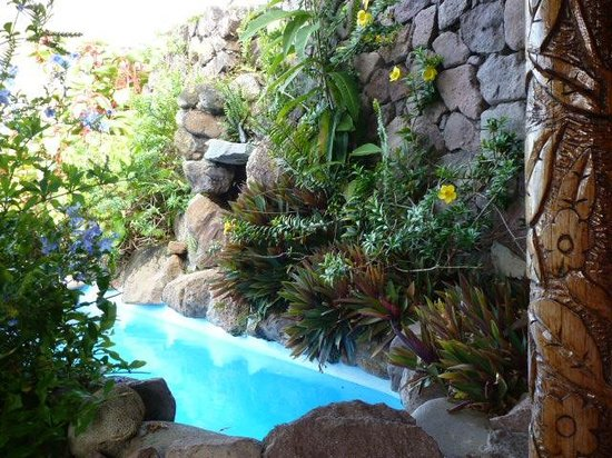 Ladera Resort: Our own plunge pool