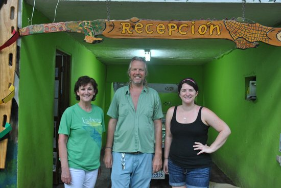 Congo Bongo Boutique Guest Houses: Me, Daan and our oldest daughter!