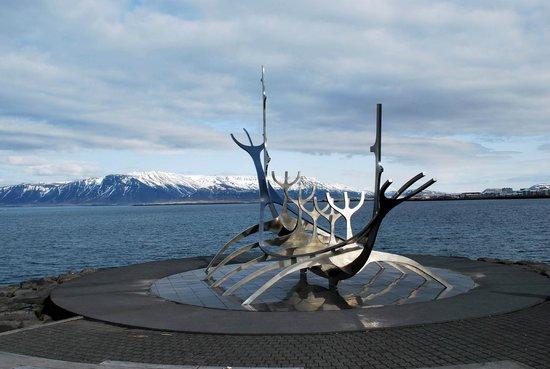 Solfar (Sun Voyager) Sculpture: Solfar Sculpture
