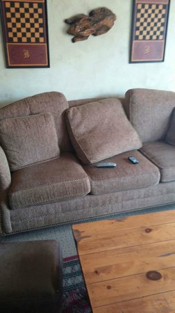 The Lodge at Buckberry Creek: Sofa in living room