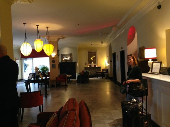 Hotel Carlton, a Joie de Vivre hotel: hotel lobby