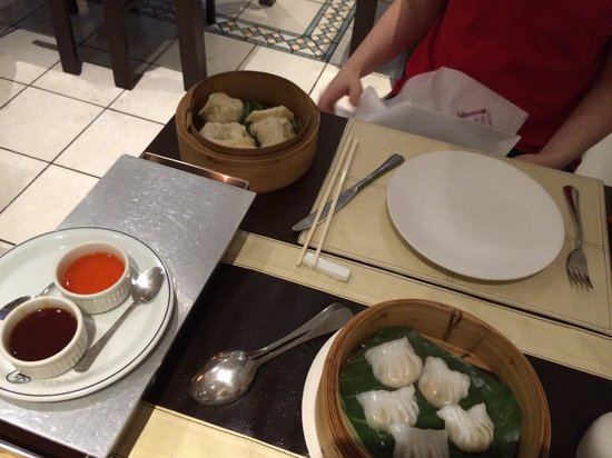 China House : Cantonese steamed and Vege Rice dumplings
