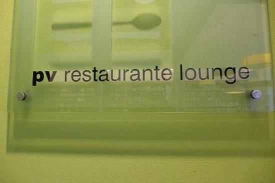 PV Restaurante Lounge: Signage