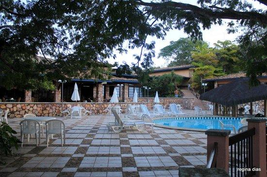 Portal Lencois Hotel: Vista da piscina