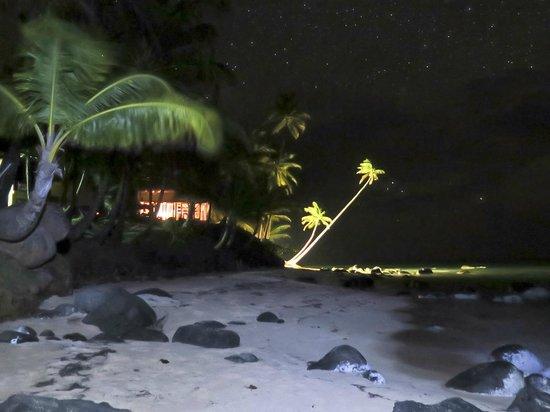 Yemaya Island Hideaway & Spa: Yemaya at night under the stars.