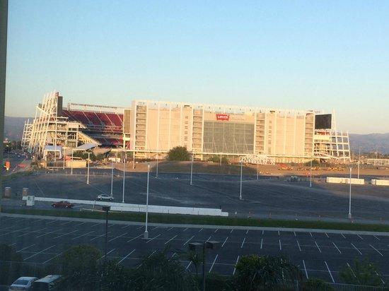 Hilton Santa Clara: View from room -- Levis Stadium