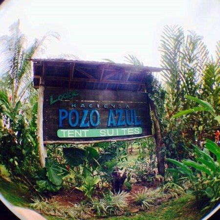 Hacienda Pozo Azul: hotel entrance