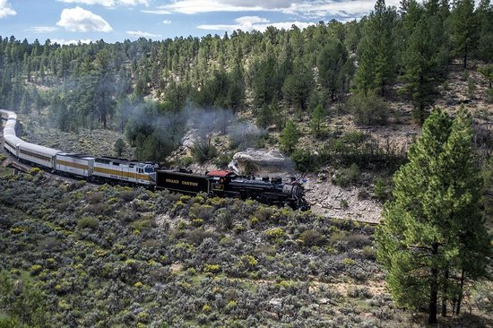 Williams, AZ: Vintage Steam Locomotive No. 4960