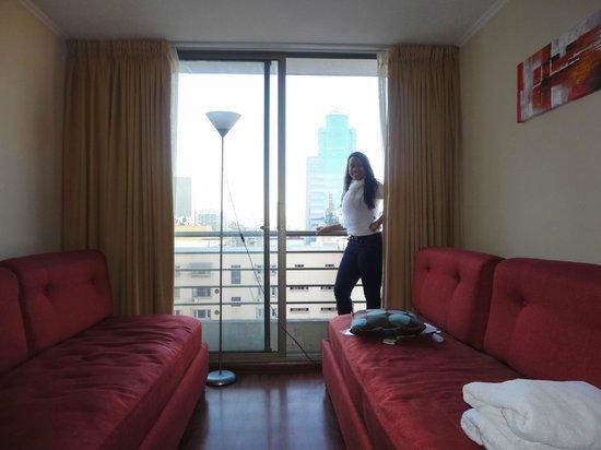 Apart Hotel Monjitas Center: ap