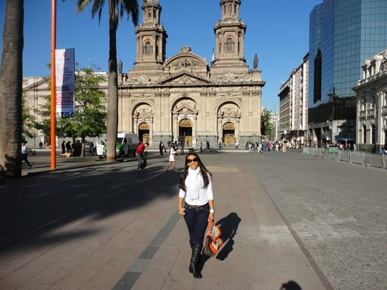 Apart Hotel Monjitas Center: Praça das armas