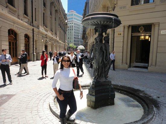 Apart Hotel Monjitas Center : praça