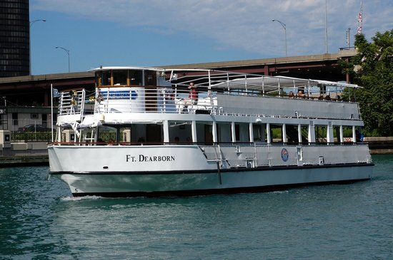 Chicago Line Cruises: Our Flagship The Ft. Dearborn
