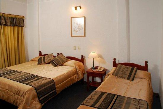 Hotel King's Bariloche : HABITACION TRIPLE