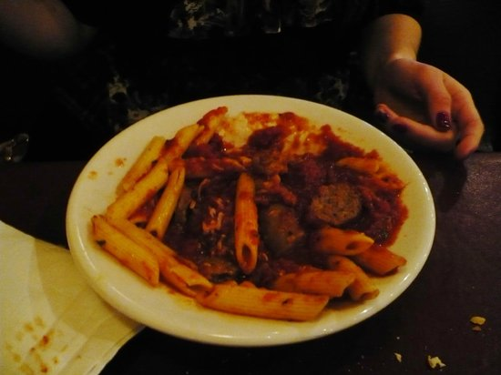 Florentina's Ristorante Italiano : Pasta with Marinara and Meatballs