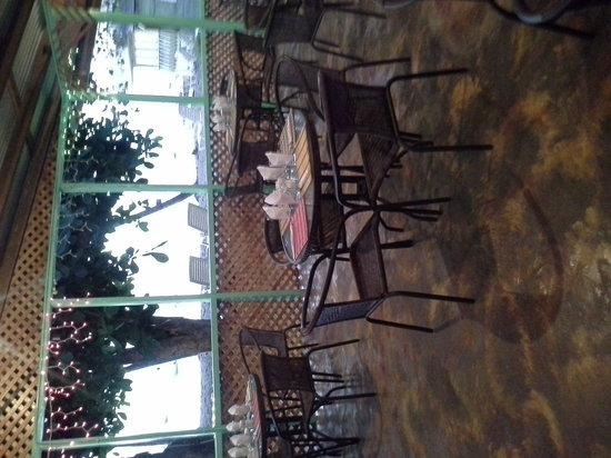 D'Almond Tree Restaurant: view from d almond tree