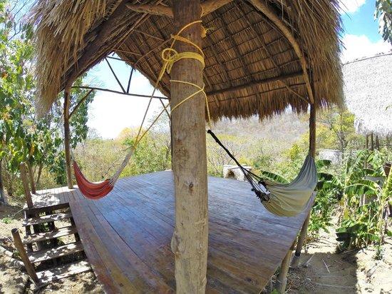 Hostel Clandestino: Hammock and Yoga Area