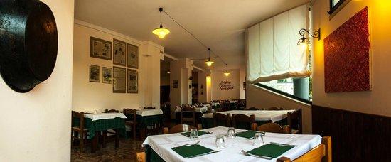 Hotel Restourant Vecchio Forno: Salone ristorante