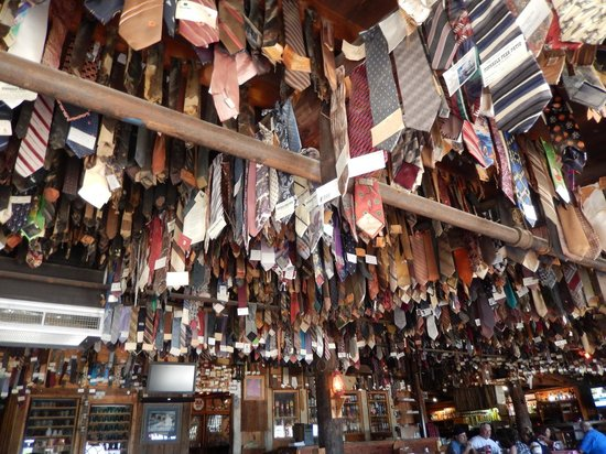 Captivating Pinnacle Peak Patio Steakhouse: Ties, Ties, And More Ties!