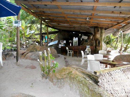 Anse Lazio - bar sulla spiaggia