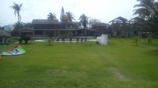 Taboga: Eco Boutique Hotel : jardin