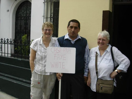 Casa Ana: Our very friendly driver,Christian.