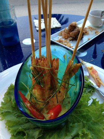 Cafe 69: amazing prawns