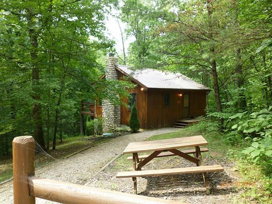 Hocking Hills Cabins: Happiness is