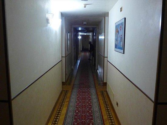 Villa Pace Park Hotel Bolognese: 廊下
