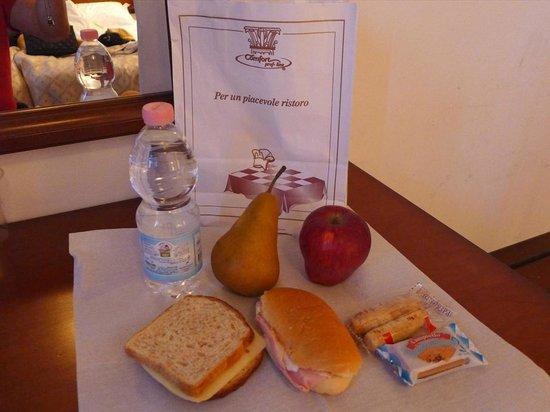 Villa Pace Park Hotel Bolognese: お弁当