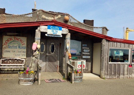 Griff's On The Dock: Griffs on the dock, Port Orford, OR