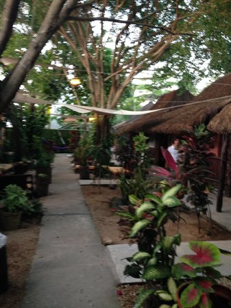Secret Garden Hotel : outside, other half