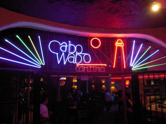 Cabo Wabo: We're here!