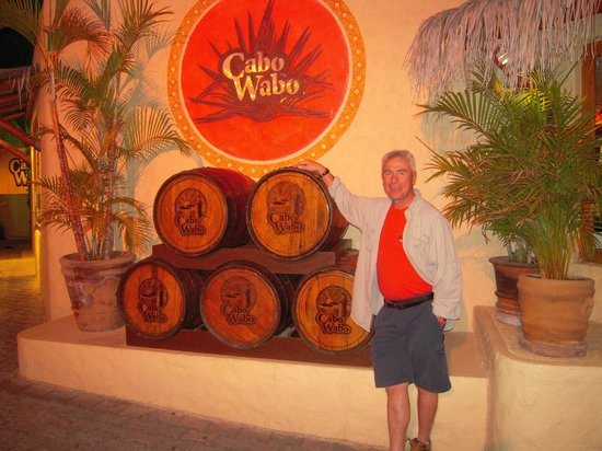 Cabo Wabo Cantina: Too Much!