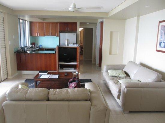 Pinnacles Resort: well appointed 2 bedroom unit
