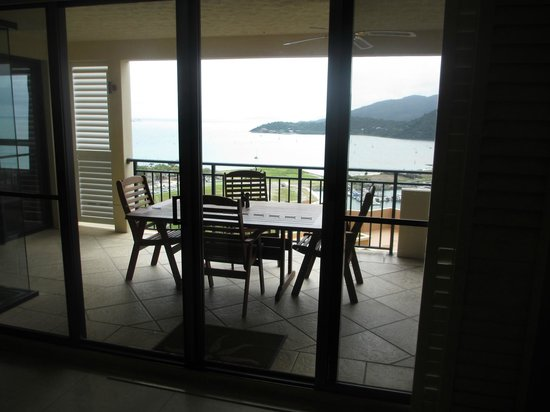 Pinnacles Resort: Lovely mornings and afternoons on the balcony