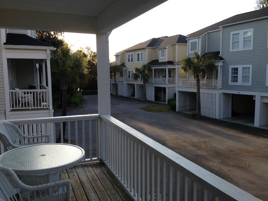 Wyndham Ocean Ridge : View from 2nd living room balcony