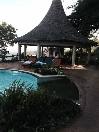 Lake Manyara Serena Lodge : Pool Bar