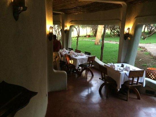 Lake Manyara Serena Lodge: Dining