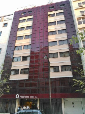 Hotel Principe Lisboa: Fachada Hotel Príncipe Lisboa - foto diurna